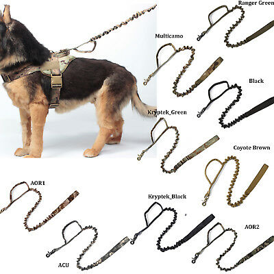 Tactical Dog K9 Training Bungee Leash (9 Colors Option)