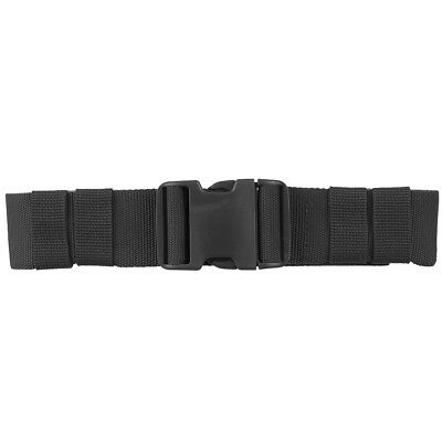 MIL-TEC TACTICAL ADJUSTABLE ARMY BELT 50mm QUICK RELEASE SECURITY BUCKLE BLACK