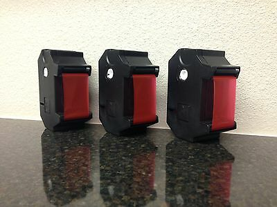 FP Optimail/T-1000 Postage Meter Ink Ribbons - 3pc NIB