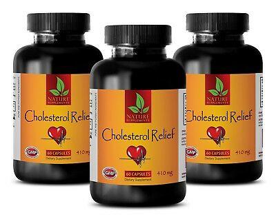 CHOLESTEROL RELIEF - Cholesterol Monitor - Cholesterol Reduce - 6 Bot