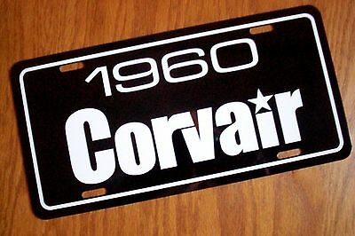 1961 Chevrolet Corvair license plate car tag 61 Chevy  coupe sedan wagon van