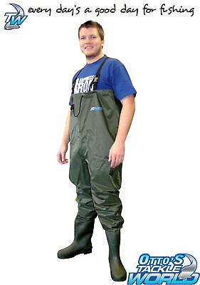 Shakespeare X Tackle PVC Nylon Chest Waders BRAND NEW at Otto's Tackle World