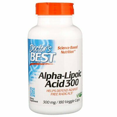 "Doctors Best, Alpha-Lipoic Acid ""ALA"" - 300mg x180Vcaps"