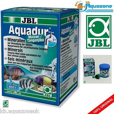 JBL Aquadur Malawi/Tanganjika 250g * Minerals for East African cichlids * NEW