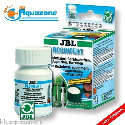 JBL Desinfekt * Disinfects equipment DISINFECTANT AQUARIUM * FAST DELIVERY *NEW