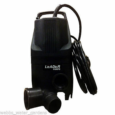 Leader Solid Answer 4 Submersible Pond Pump 1450GPH