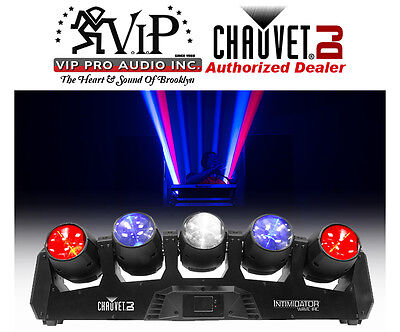 Chauvet Intimidator Wave IRC Moving Light Array With Razor-Sharp Beams Of Lights