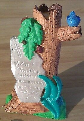 Historic Early 20th Century Grave Marker - Hand Painted - 3D Printed Plastic