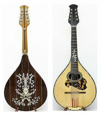 Arch back Mandola, Solid spruce top Rosewood, MOP inlay, NAMA Classical series