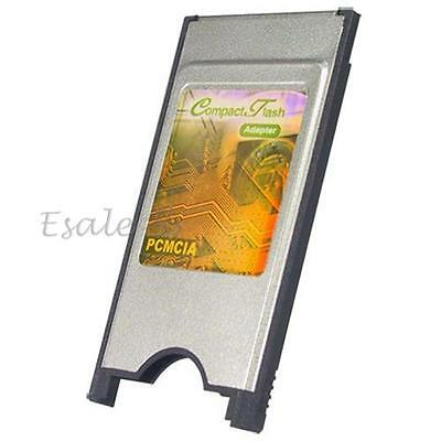 PCMCIA Compact Flash CF Card Reader Adapter for Laptop
