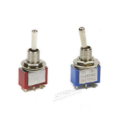 Small Mini Toggle Switch ON/ON ON/OFF/ON SPDT Car Van Dash Dashboard Light 250V