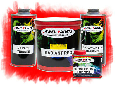 2k Acrylic Car Paint Ford Radiant Red 5 Litre Kit  Direct High Gloss