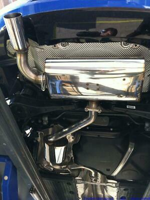 FMS Gruppe A Anlage Edelstahl VW Scirocco III (Typ 13,ab 08) 1.4l TSI 90/118kW