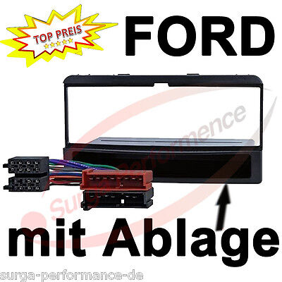 Ford Fiesta Focus Galaxy Car Radio Panel Frame ++ Adapter Cable New Sealed