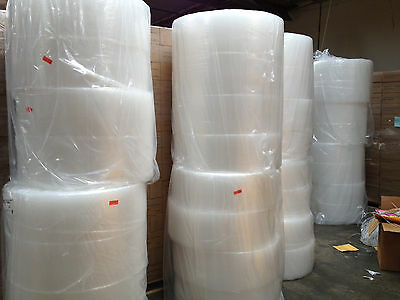 "BUBBLE+WRAP 12"" inch wide  750  FT 3/16 "" 1/8 small Bubble ""Pick Up Only"""