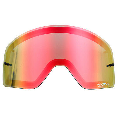 Dragon NEW Mx NFXS Motocross Goggles Tinted Ionized Red Replacement Lens