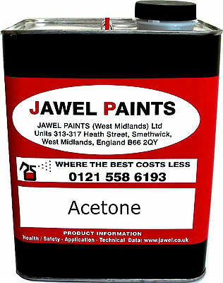 2.5Litre Acetone Perfect Cleaning Solvent
