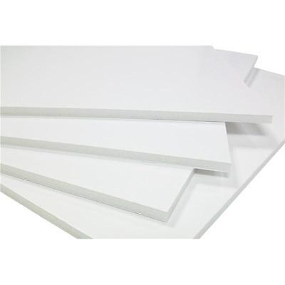 A3 White Foam Board - 5mm - 10 Pack - Sign Making - Paper Coated - Modelling