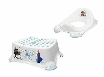 Disney Eiskönigin 2er Set WC Aufsatz + Hocker Toilettentrainer