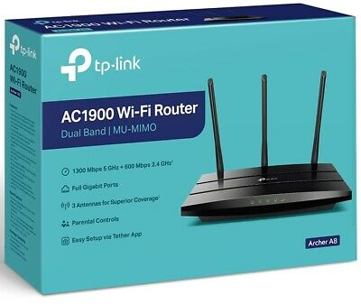 TP-Link Archer C9 Dual Band AC 1900Mbps Wireless N Gigabit Router 5GHz USB3
