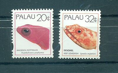 POISSONS - FISHES PALAU 1995 Common Stamps
