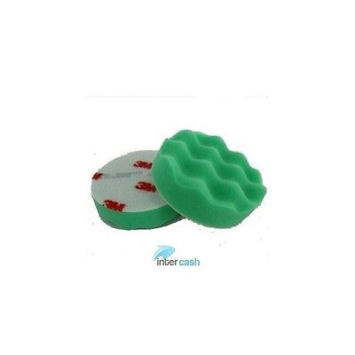 1 x 3M 50499 Mousse de Polissage Verte Diam 75 MM