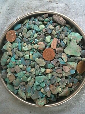 Turquoise chips and nuggets 391 grams