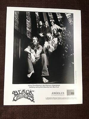 THE BLACK CROWES - THREE SNAKES AND A CHARM / ORIGINAL 1996 PUBLICITY PHOTO