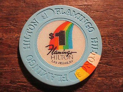 FLAMINGO HILTON LAS VEGAS $1 CASINO CHIP