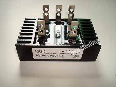 Three Phase Bridge Rectifier Diode 100A 1600V for Wind Generator Battery Bank
