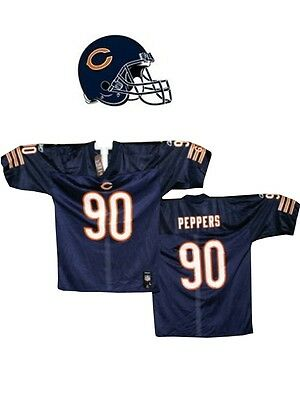 Maillot nfl Foot US américain BEARS N°90 PEPPERS Taille M (US) -> L (fr)