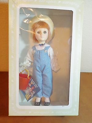 """VINTAGE EFFANBEE JACK DOLL 1980'S 11"""" TALL IN THE ORIGINAL BOX # 1186"""