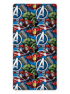 Sabana Bajera Ajustable Marvel Heroes The Avengers Hulk Iron Man Capitan America