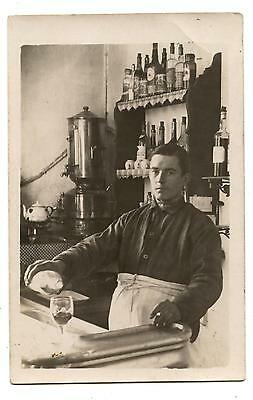 Carte Photo.bistrot.boisson.commerce.bar.vin.cigarette.