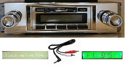 1957-58 Ford Full Size Car Radio w/ FREE Aux Cable + 230 Stereo  **