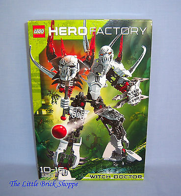 Rare Lego Hero Factory 2283 WITCH DOCTOR - ✴ New and Still Sealed ✴