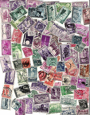 92 Older Used USA Stamps