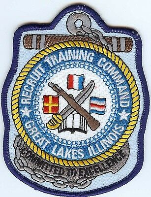 Recruit Training Center (RTC) Great Lakes BC Patch C6712