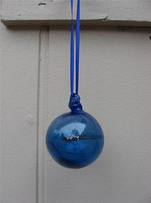 Water Witch Ball ~ Blown Glass ~ Wicca Witchcraft Pagan