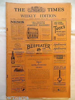 The Times  Weekly Edition  9. July 1936