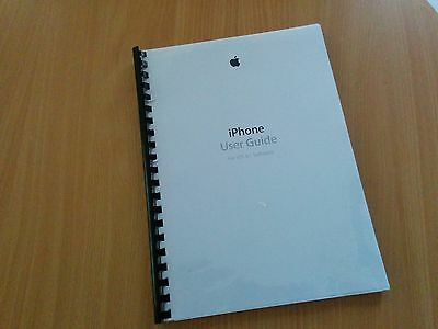Printed Apple iPhone 6, 6 Plus Instruction Manual / User Guide - iOS 8.1