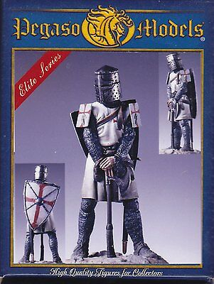PEGASO MODELS 54-118 - BROTHER-KNIGHT ORDER OF ST. JOHN - 54mm WHITE METAL NUOVO