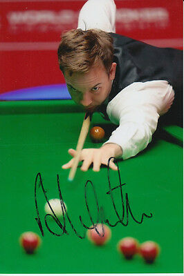Snooker Hand Signed Ali Carter 6X4 Photo 1.