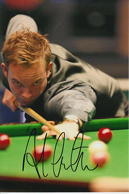 Snooker Hand Signed Ali Carter 6X4 Photo 2.