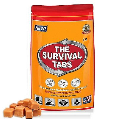 2 Meal 2 Day 240 Calorie Emergency Survival Food Bar Rations Bug-Out Emergency
