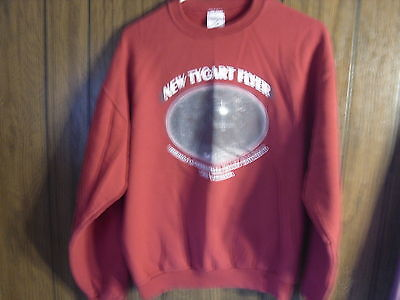New Tygart Flyer Durbin & Greenbrier Valley Railroad Sweatshirt West Virginia