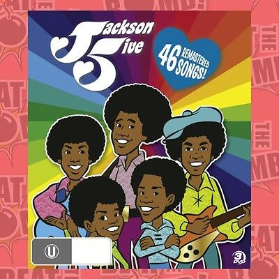 Jackson 5ive: The Complete Collection (The Animated Series  - DVD - NEW Region 4
