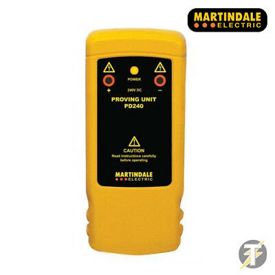 Martindale PD240 - 240V DC Proving Unit For 2 Pole Voltage & Continuity Testers
