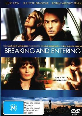 Breaking and Entering  - DVD - NEW Region 4