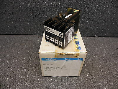 NEW Westinghouse Control Relay, ARD4LR, 4-Pole 24 VDC with ARDCR contact blocks